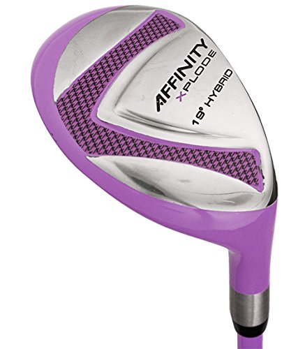 AFFINITY Women's Golf Xplode 4 Hybrid Club Set, Ladies Flex, Right Hand, Purple by Affinity