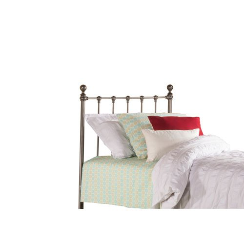 Hillsdale Molly Twin Metal Duo Panel Headboard in Black Steel - Duo Panel Headboard