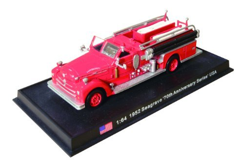 Seagrave 70th Anniversary Series - 1952 diecast 1:64 fire