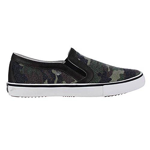 BK - Jam B35-3775-01 Green Camo Herren Sneaker Slipper Schuhe (Green Camo 01)
