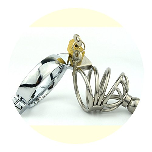 Gold Metal Male Chastity Device P-Enis Dick Belt Lock cage Sleeve Sex Toy Products for Men by longing-summer-C-ocking Ring Sex Toys