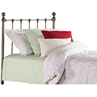 Hillsdale Molly Twin Metal Duo Panel Headboard in Black Steel
