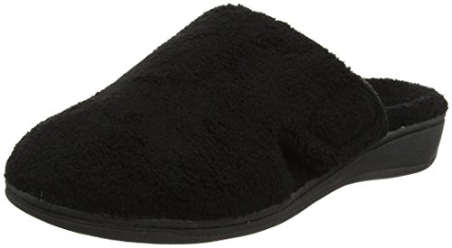 Vionic Women's Gemma Mule Slippers Black 10 M