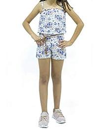 Andreita Jumper con Estampado de Flores Azules