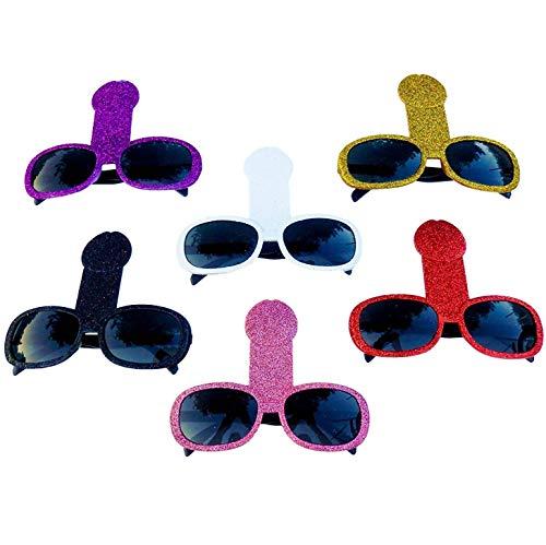 Bachelorette Party Glasses (6 PACK) - Bachelorette Party Favors and Decorations - Bridal Shower Supplies