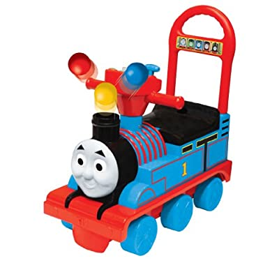 Thomas the Train Popping Balls Activity Train by Kiddieland: Toys & Games