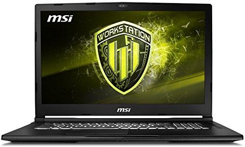 MSI WE63 8SJ-235 (i7-8750H, 32GB RAM, 512GB NVMe SSD, NVIDIA Quadro P2000 4GB, 15.6