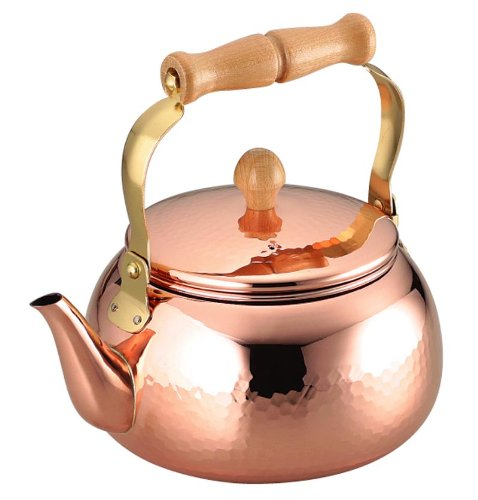 Copper Classic Kettle - Asahi Food Easy Studio Kettle 2.4l Copper Cne307 (Japan Import)