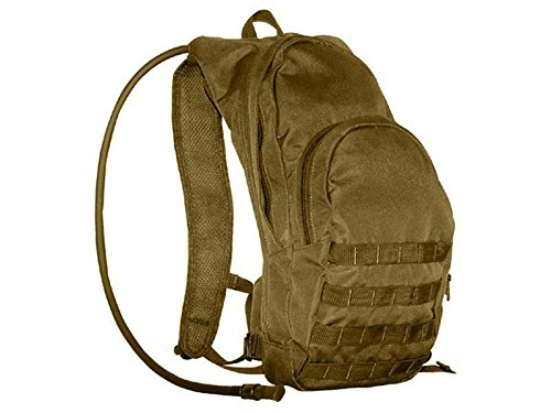 Condor Tactical Hydration Pack with Bladder Coyote 124-498 MOLLE PALS by CONDOR