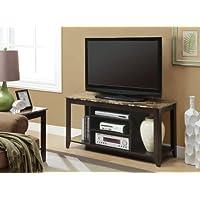 Cappuccino / Marble Top 48L Tv Console