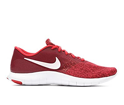 Nike Men's Flex Contact Running Shoe (7 M US, Team Red/White-Red)