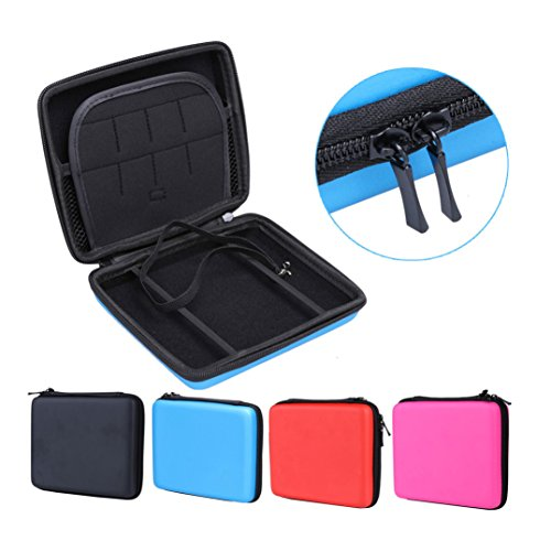 Travel Carrying Case Protective Carrying Case 2DS Case with Wrist Strap for Nintendo 2DS (2DS Black)