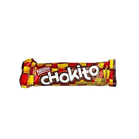 Barra de chocolate con un relleno de leche condensada y copos crujientes, 32 g - Chocolate Chokito: Amazon.es: Alimentación y bebidas