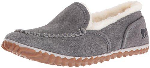 Sorel Womens Tremblant Moc Slipper Grey