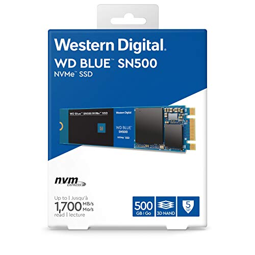 WD Blue SN500 500GB NVMe Internal SSD - Gen3 PCIe, M.2 2280, 3D NAND - WDS500G1B0C by Western Digital (Image #4)