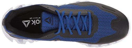 Reebok Menns Zigpulse-se Sneaker Strikke - Svart / Kollegialt Royal / Hvit