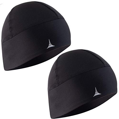 French Fitness Revolution Skull Cap Helmet Liner Running Beanie - Ultimate  Thermal Retention and 1541fb9016f7