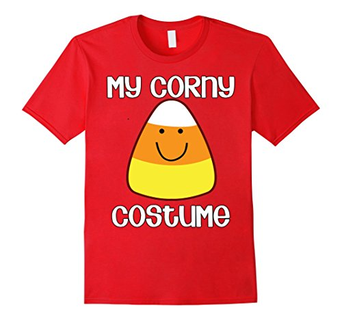 Last Minute Halloween Costumes Ideas Men (Mens My Corny Costume Last Minute Halloween Costume T-shirt Medium Red)