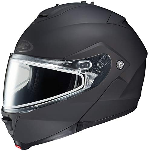 HJC Matte Men's IS-MAX 2 Snowmobile Helmet - Matte Black / 3X-Large