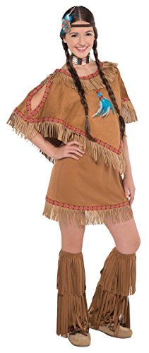 Amscan Juniors Native Princess Halloween Costume Size Medium (7-9) - Junior Princess Costumes