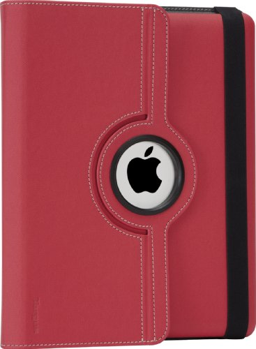 Targus VersaVu Rotating Keyboard Case and Stand for iPad 3rd Gen, Red (THZ17102US) ()