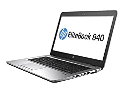 "Hp Elitebook 840 G3 T6f46ut#aba (14"" Led Display, 8gb Ram, 256gb Ssd, Water Resistant Keyboard, Media Card Reader, 720p Camera, Windows 7 Pro 64)"