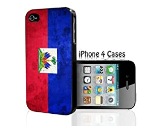 Haiti Flag iPhone 4/4s case