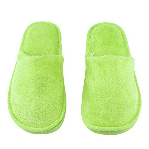 Maison Respirant Maison Femmes Intérieur en Peluche Silent Coton en Slip Semelle Hommes Chaussures Caoutchouc Chaud Maison Semelle Anti Pantoufle Doux Adulte wCS0qfnA