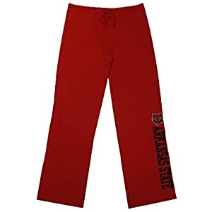 Womens ARKANSAS STATE RED WOLVES Casual-wear Lounge pants / Yoga Pants L Red