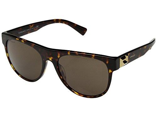 e4237eebdf184c Versace Mens Sunglasses Tortoise Brown Acetate - Non-Polarized - 57mm by  Versace