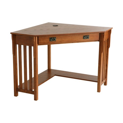 Corner Computer Desk - Mission Oak Southern Enterprises, Inc.
