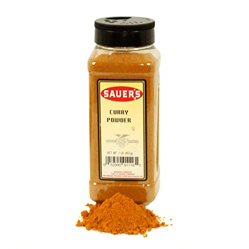 C.F. Sauer Foods Curry Powder, 1 Pound - 6 per case. by C.F. Sauer Foods