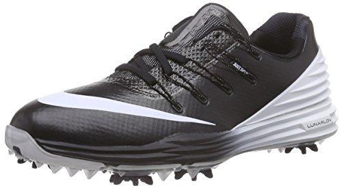2016 Nike LUNAR CONTROL 4 Golf Shoes Medium -New- Grey/Black/Blue/White Black/Wolf Grey/White