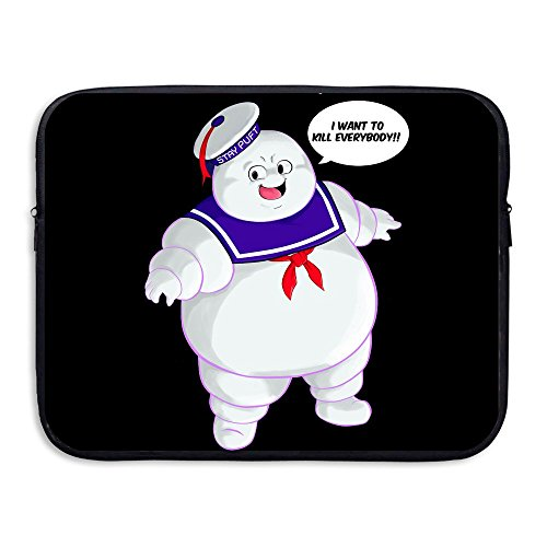 Custom Cute Stay Puft Ghostbusters By Christianimas Water-resistant Laptop Protector Case Bag 13-15