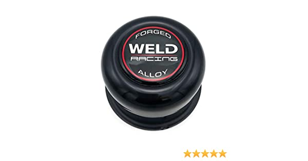 Weld Racing P605-5073 Polished 3.16 OD x 2.20 Tall Push Thru 5-Lug Replacement Right Center Cap