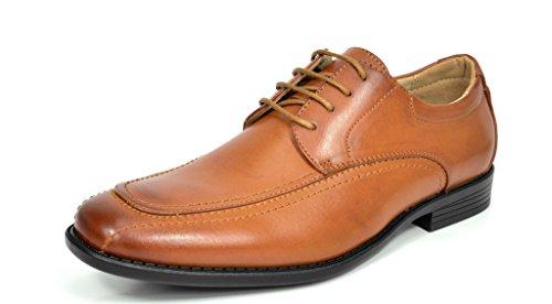 Buy mens fashion brown dress shoes - 2