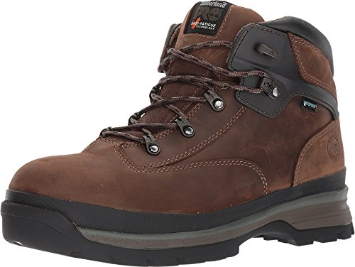Timberland PRO Men's Euro Hiker Alloy Safety Toe Waterproof Industrial Boot, Brown, 15 W US