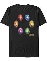 Marvel Men's Avengers: Infinity War Six Infinity Stones T-Shirt