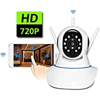 AOLANS 720P Ip camera with wifi security home monitoring Night Vision ,Two Way Audio For iPhone/Android Phone