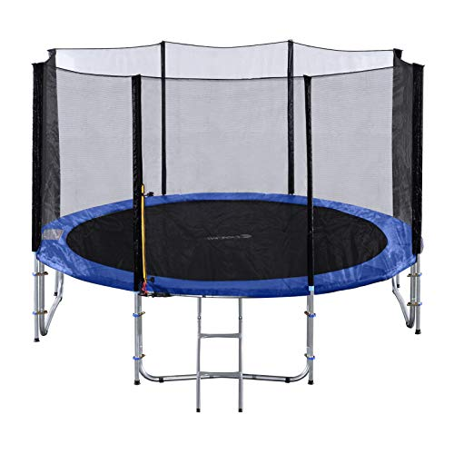 Exacme 10FTCombo Trampoline with Safety Pad & Enclosure Net All-in-One...