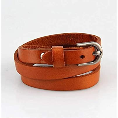 ZUOZUO Leather Wristband 4-Color Multi-Layer Bracelet Belt Bracelet Men S And Women S Men S Small Accessories Bag Buckle Bracelet Estimated Price £19.99 -