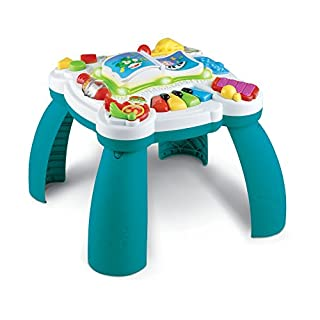 Leapfrog and Amazon.Com have teamed up to offer this item in Amazon frustration-free packaging; a recyclable, easy-to-open alternative to traditional packaging. Turn up the sounds of learning fun with the learn & groove musical table! children ca...