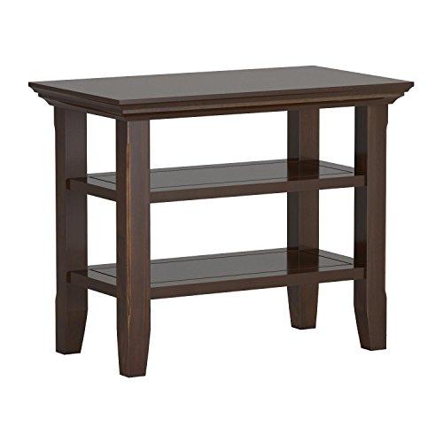 Simpli Home Acadian Solid Wood Narrow Side Table, Tobacco Brown by Simpli Home (Image #6)