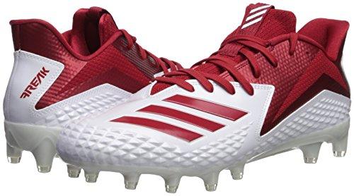 Pictures of adidas Men's Freak X Carbon Mid CG4374 White/Power Red/White 4
