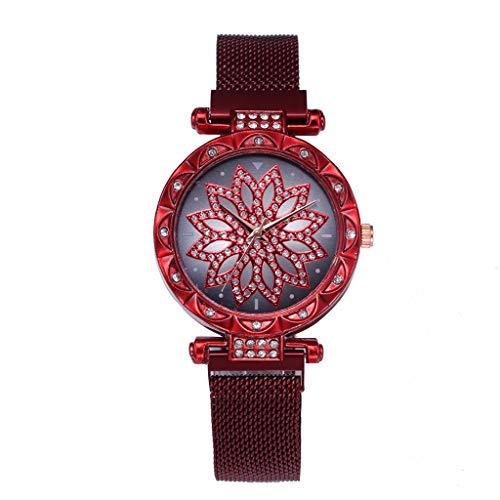 Tantisy ♣↭♣ Women's Crystal Encrusted Bracelet Watch Diamond