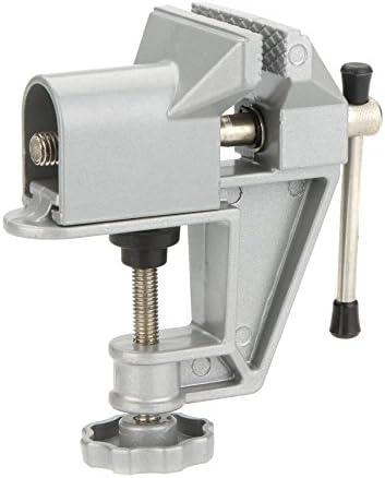 Generic TU-001 ミニ バイス ベンチ バイス アルミ 合金 ジュエリー 工芸 金型 ホビー ワークショップ バイス プロフェッショナル 固定 修理 ツール