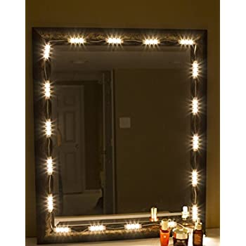 Jojoo Vanity Mirror Led Light Diy Cosmetic Makeup Mirror Lamp 10ft