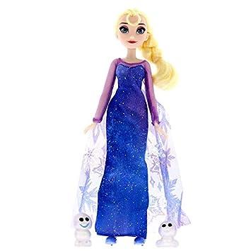 Amazon.es: Hasbro Frozen Elsa Luces de Invierno con Amigos ...