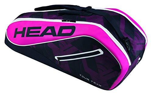 (HEAD Tour Team 6R Combi Tennis Bag, Navy/Pink)