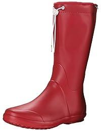Tretorn Womens Viken Rain Boot, Red, 42 EU/11 B US
